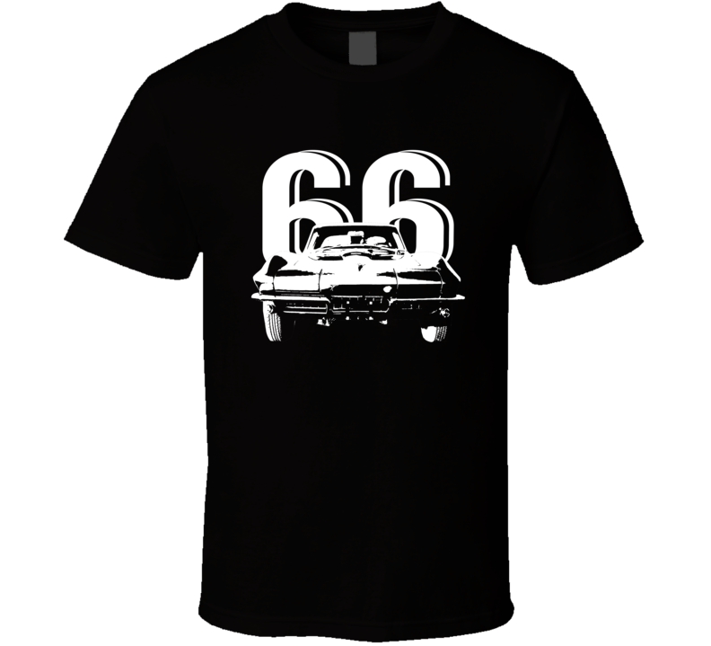 1966 Corvette Grill Year Dark Color T Shirt
