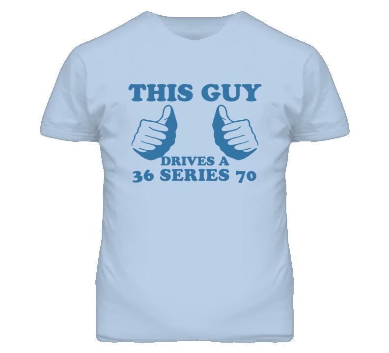 This Guy Drives A 1936 Cadillac Series 70 Car Lover T Shirt