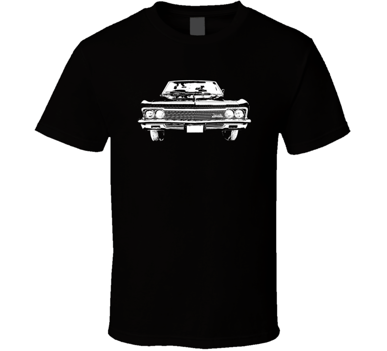 1966 Impala Grill View Dark Color T Shirt