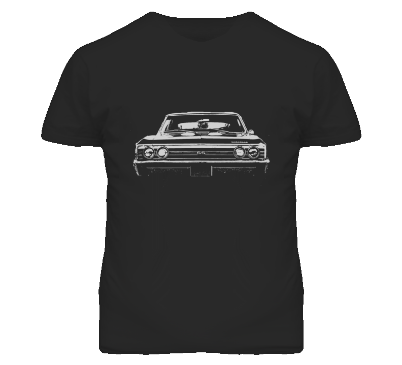1967 CHEVELLE Grill White Graphic T Shirt