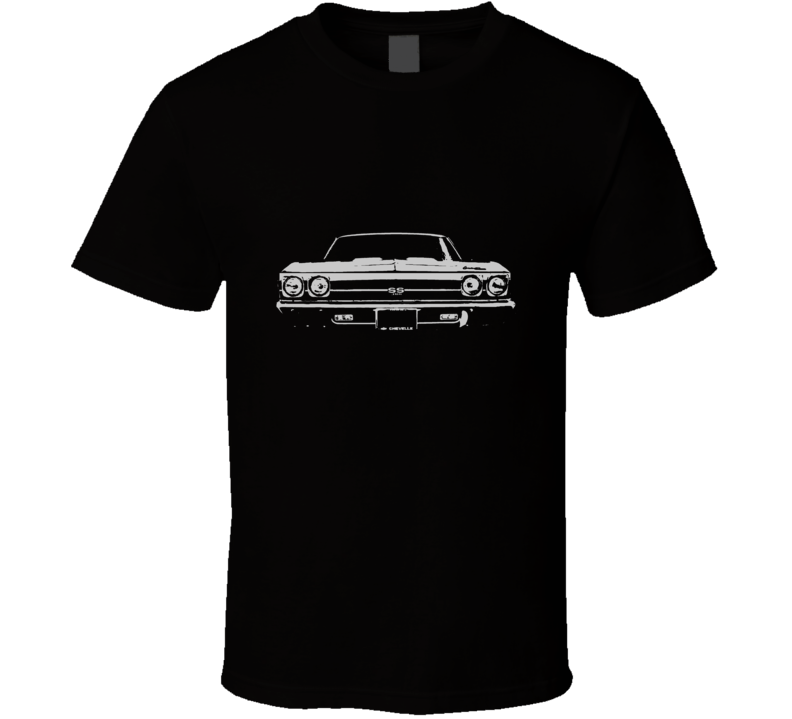 1969 CHEVELLE Grill White Graphic  T Shirt