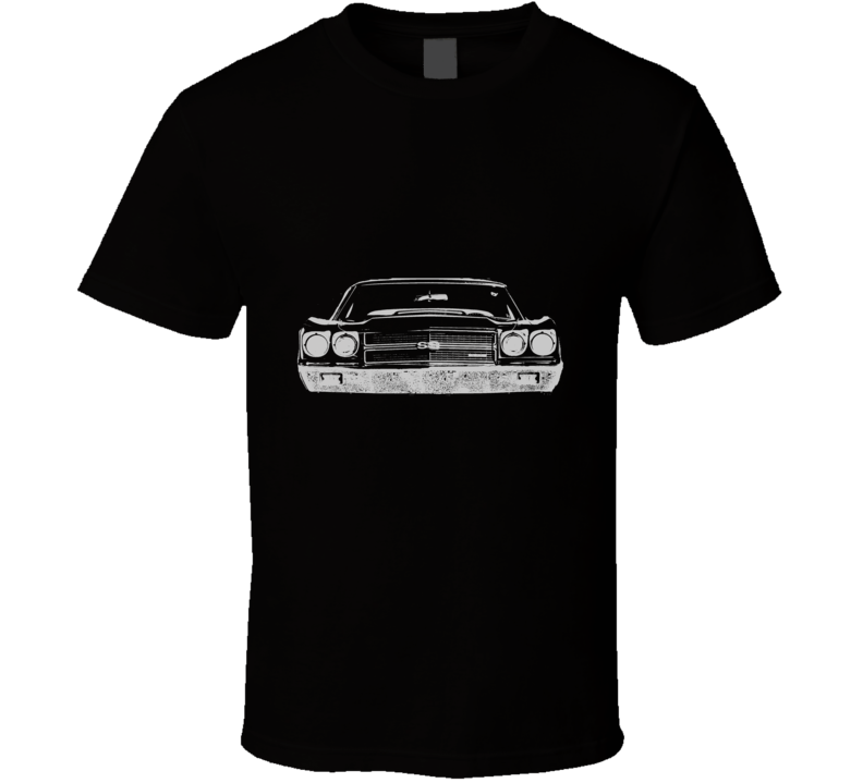 1970 CHEVELLE Grill White Graphic T Shirt