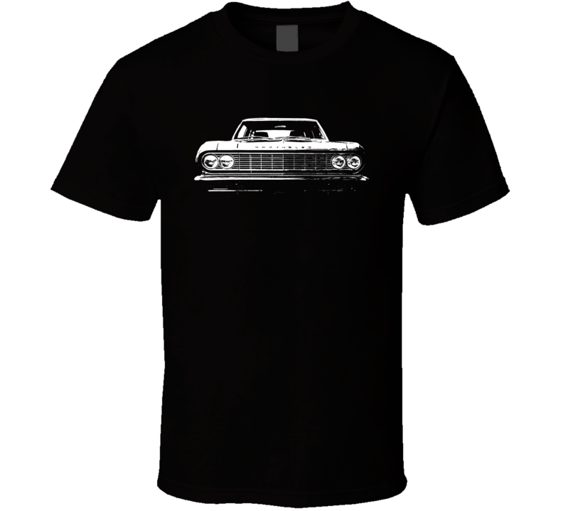 1964 Chevelle Grill View Dark T Shirt