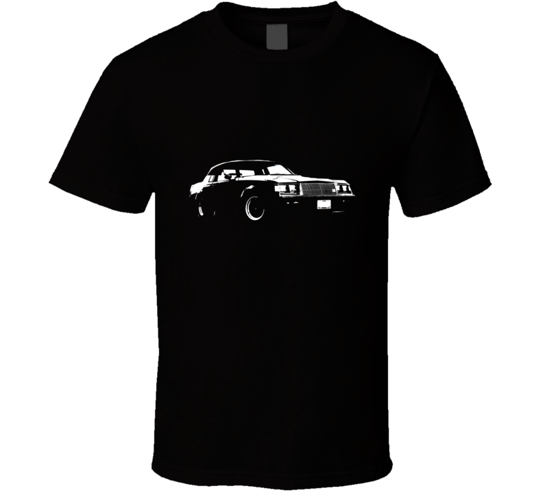 1987 Buick Grand National Side White Graphic T Shirt