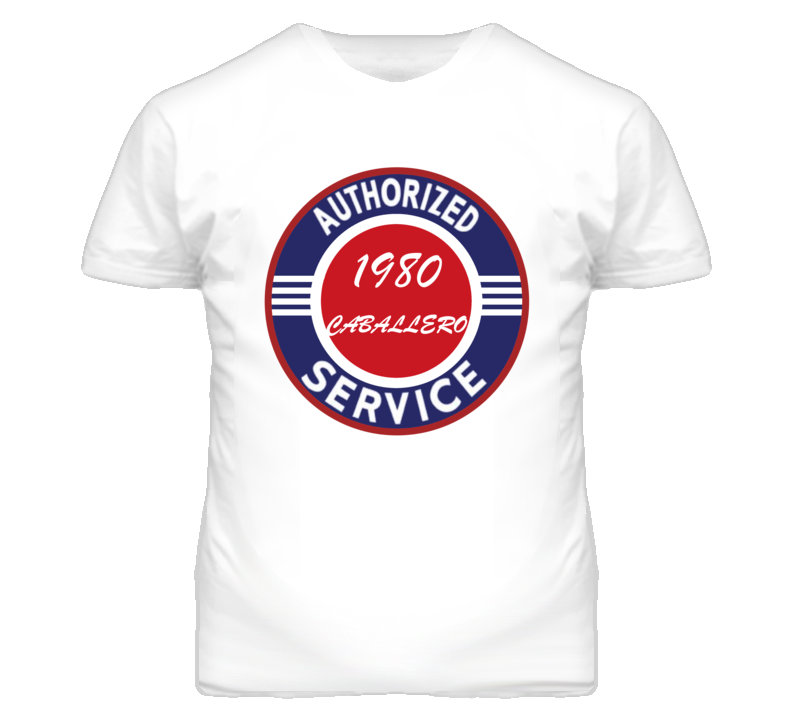 Authorized Service 1980 GMC CABALLERO T Shirt
