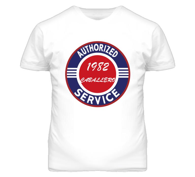 Authorized Service 1982 GMC CABALLERO T Shirt