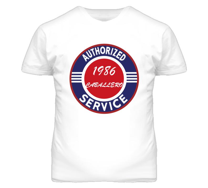 Authorized Service 1986 GMC CABALLERO T Shirt