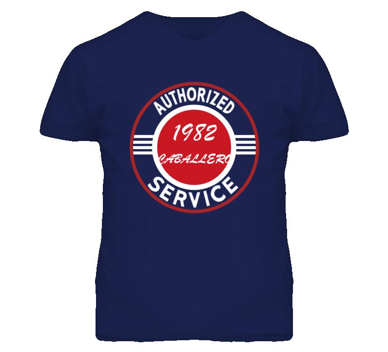 Authorized Service 1982 GMC CABALLERO Dark T Shirt