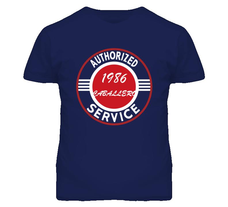 Authorized Service 1986 GMC CABALLERO Dark T Shirt
