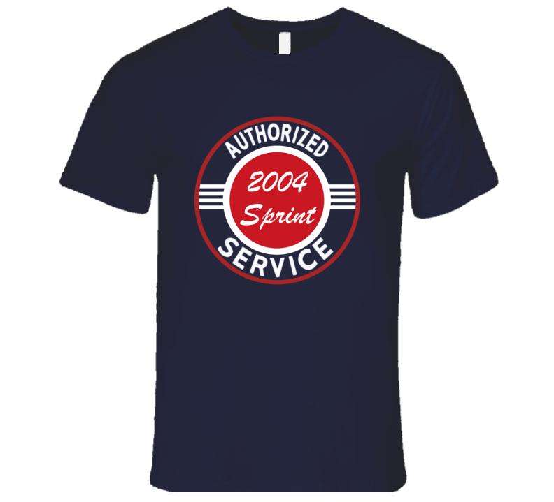 Authorized Service 2004 Chevy Sprint Dark T Shirt
