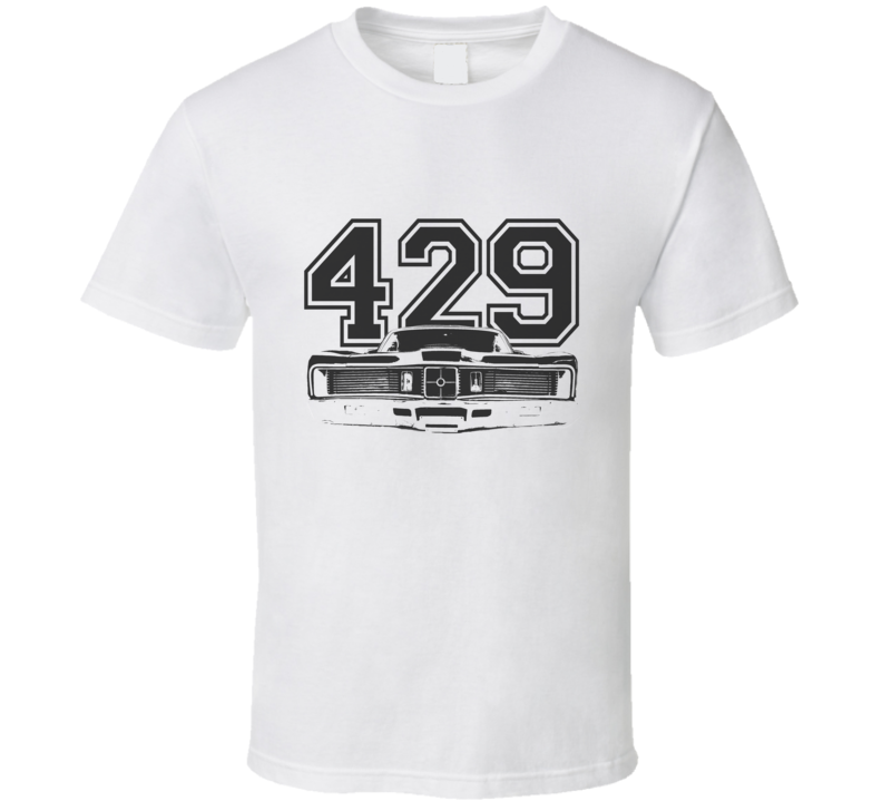 1970 MERCURY CYCLONE Grill Black Graphic Engine Size T Shirt