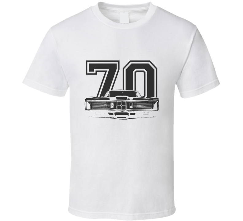 1970 MERCURY CYCLONE Grill Black Graphic Year T Shirt