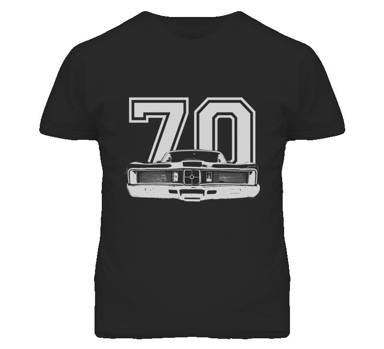 1970 MERCURY CYCLONE Grill White Graphic Year T Shirt