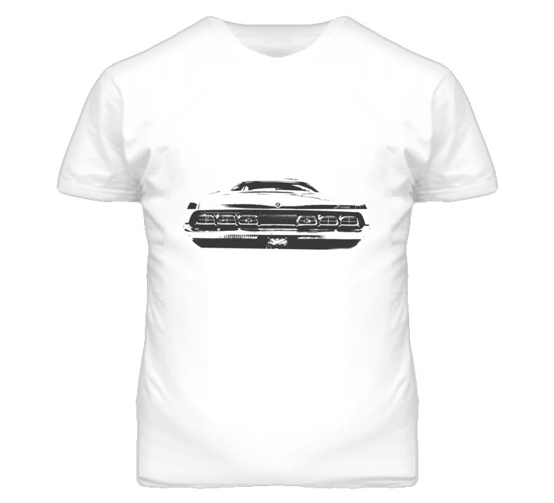 1970 MERCURY CYCLONE Rear Black Graphic T Shirt