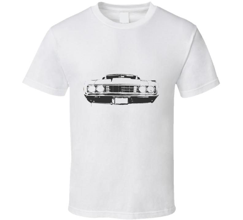 1969 MERCURY CYCLONE Grill Black Graphic T Shirt