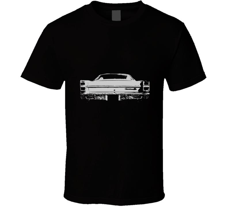 1967  FAIRLANE Rear White Graphic T Shirt