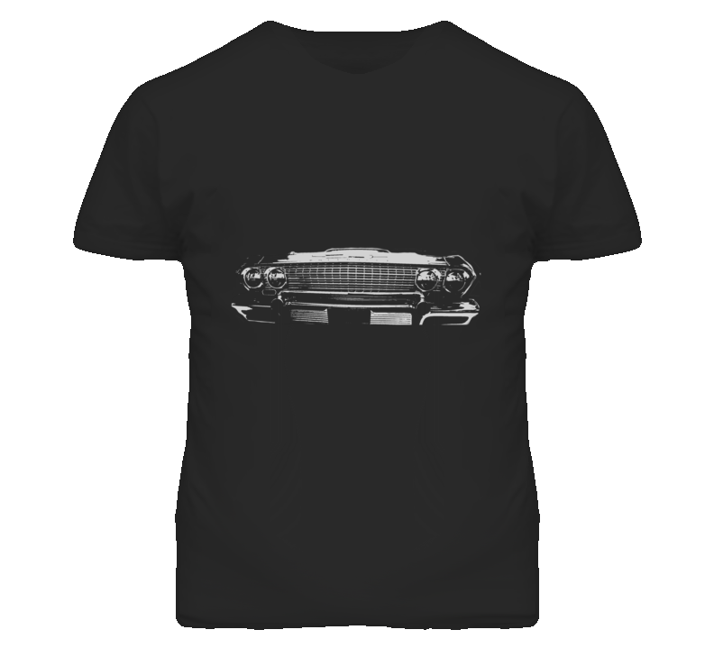 1963 CHEVY IMPALA SS Grill White Graphic T Shirt