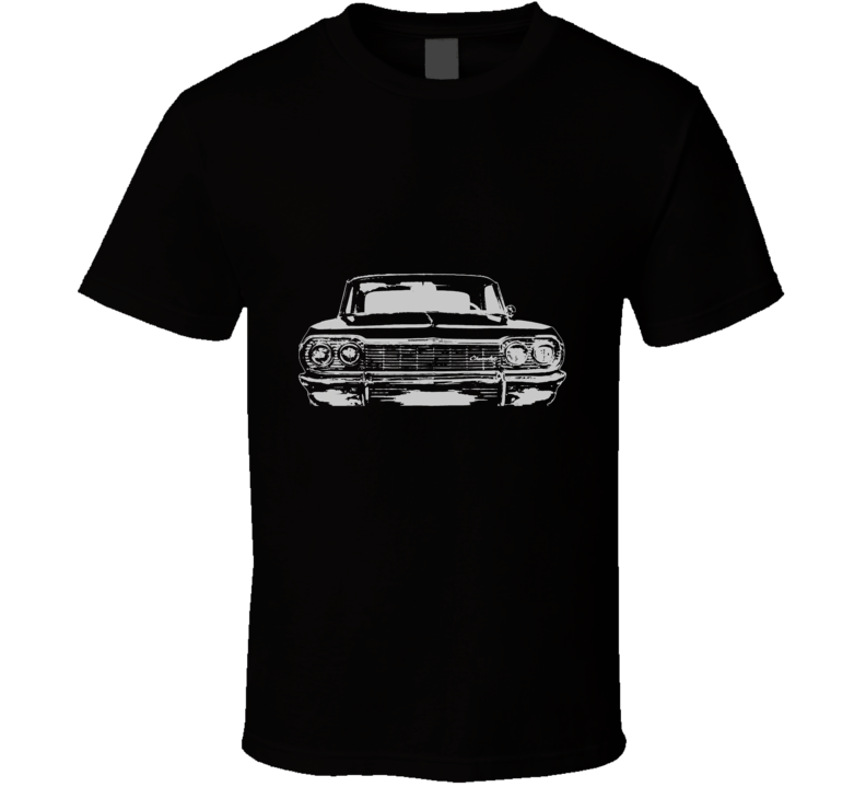 1964 CHEVY IMPALA SS White Graphic T Shirt