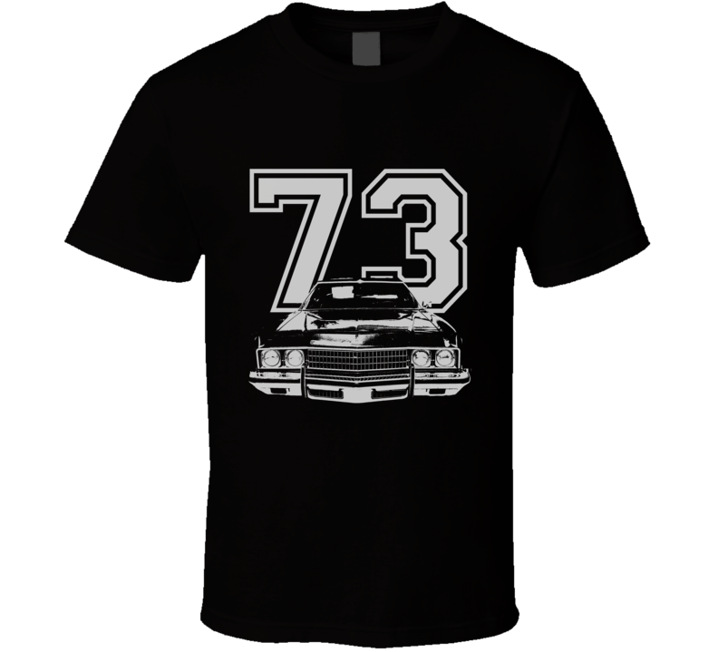 1973 CHEVY CAPRICE Grill White Graphic Year T Shirt