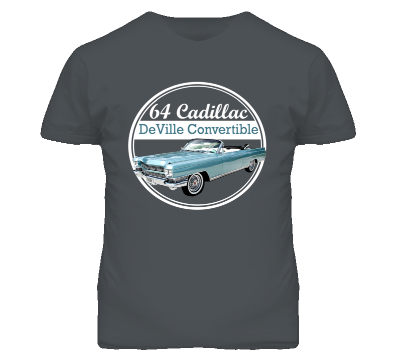 1964 Cadillac DeVille Convertible Jake Cate 48 Hours T Shirt