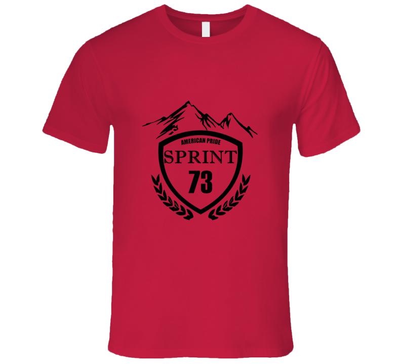 1973 GMC SPRINT Beer Label Image T Shirt