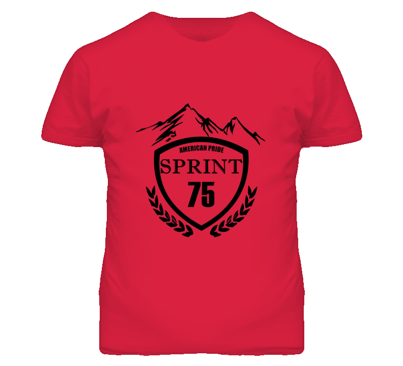 1975 GMC SPRINT Beer Label Image T Shirt