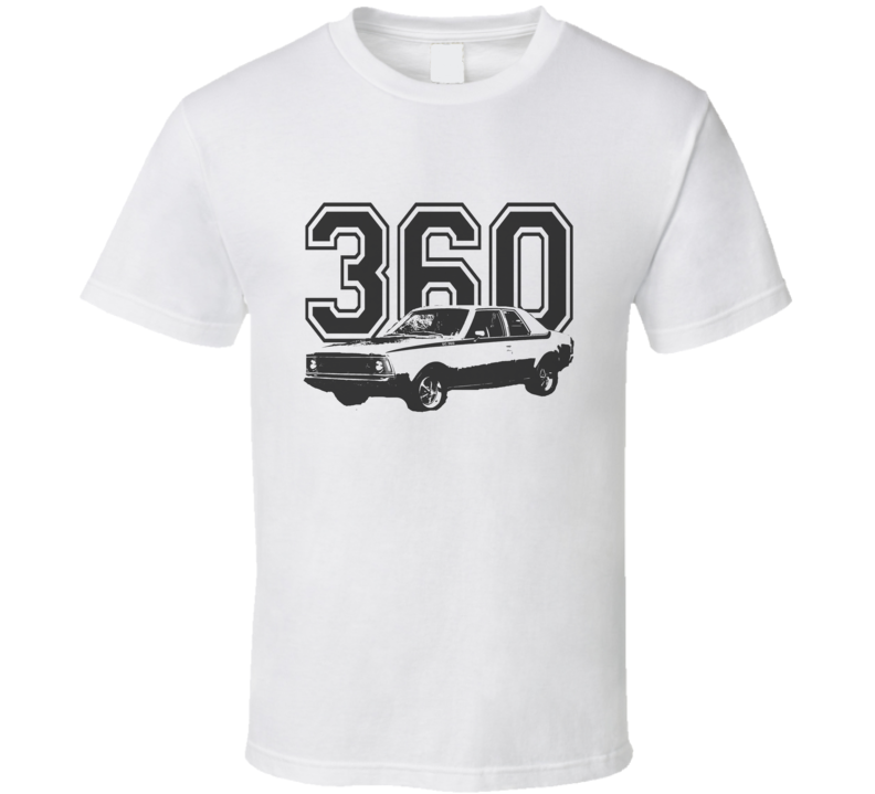 1971 AMC Hornet With Engine Size Black Graphic Light T Shirt