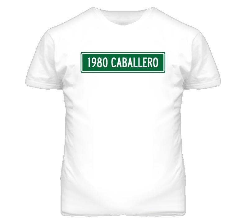 1980 GMC CABALLERO Street Sign Car T Shirt