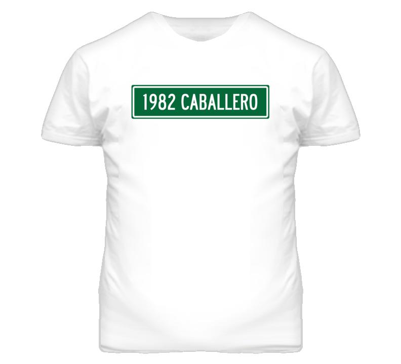 1982 GMC CABALLERO Street Sign Car T Shirt