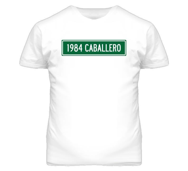 1984 GMC CABALLERO Street Sign Car T Shirt