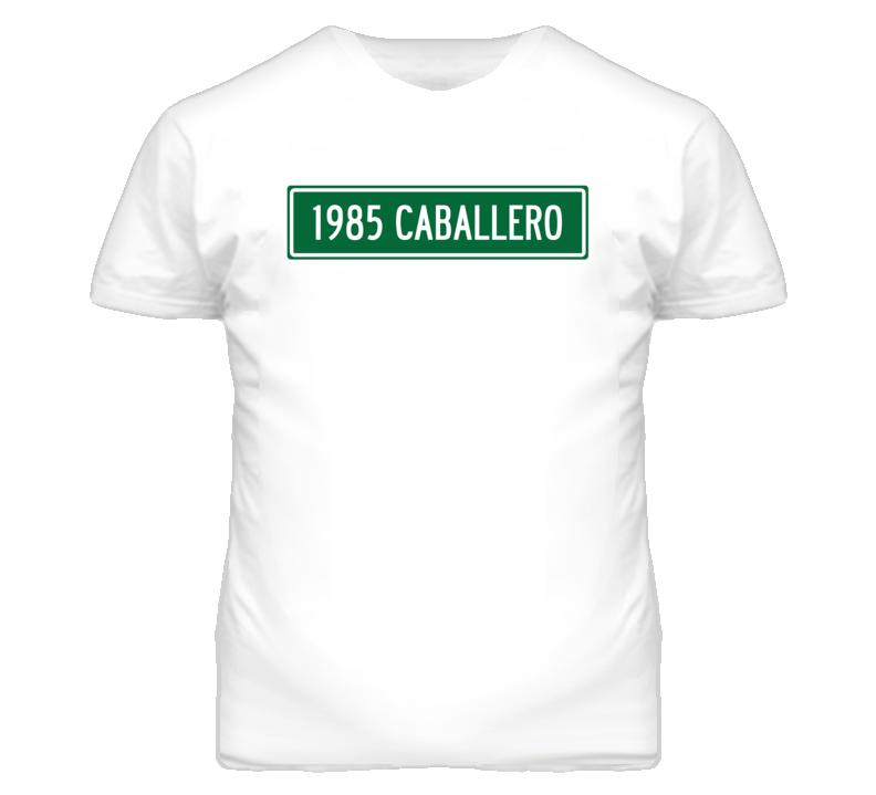 1985 GMC CABALLERO Street Sign Car T Shirt