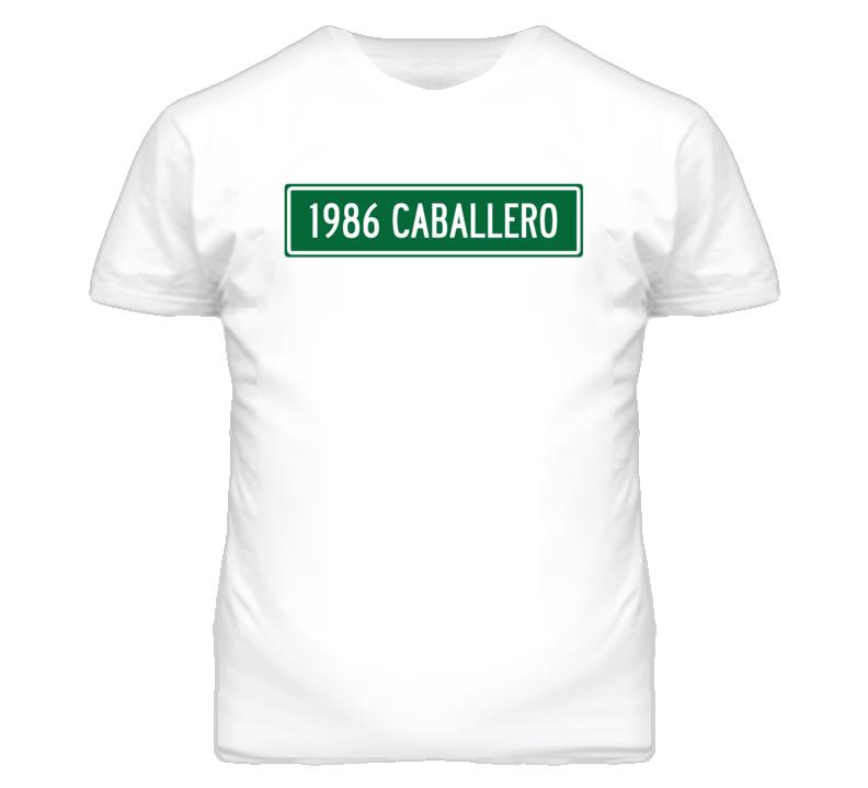 1986 GMC CABALLERO Street Sign Car T Shirt