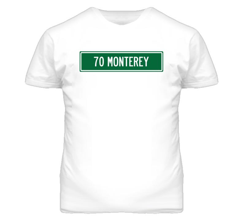 1970 MERCURY MONTEREY Street Sign Car T Shirt