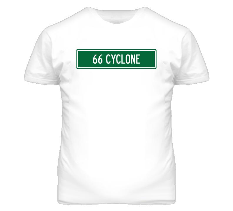 1966 MERCURY CYCLONE Street Sign Car T Shirt