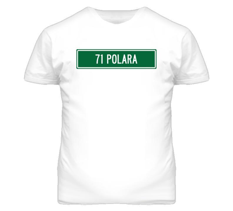 1971 DODGE POLARA Street Sign Car T Shirt
