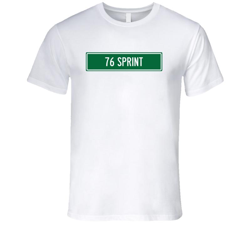 1976 GMC SPRINT Street Sign Car T Shirt