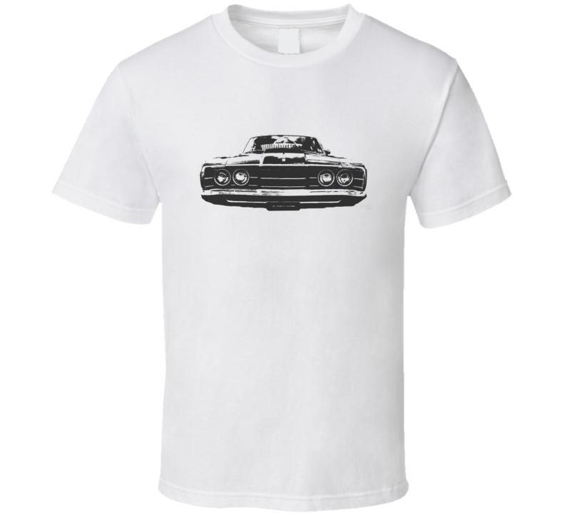 1968 MERCURY CYCLONE Grill Black Graphic Light T Shirt