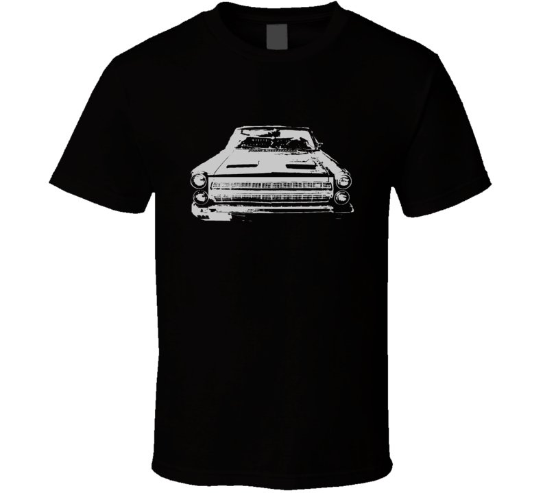 1966 Mercury Cyclone Grill White Graphic Dark T Shirt