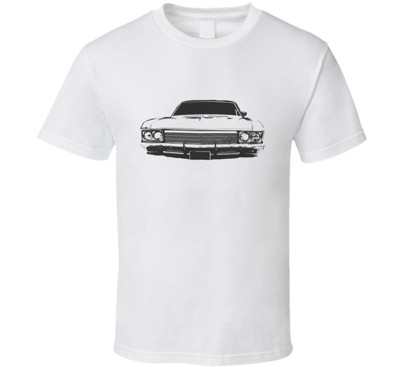 1970 CHEVY CAPRICE Grill View Black Graphic Light T Shirt