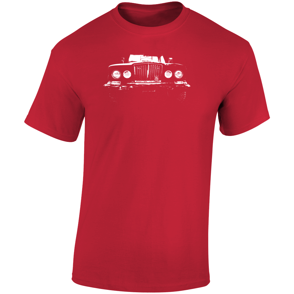 1969 Gladiator Grill View Dark Color T Shirt