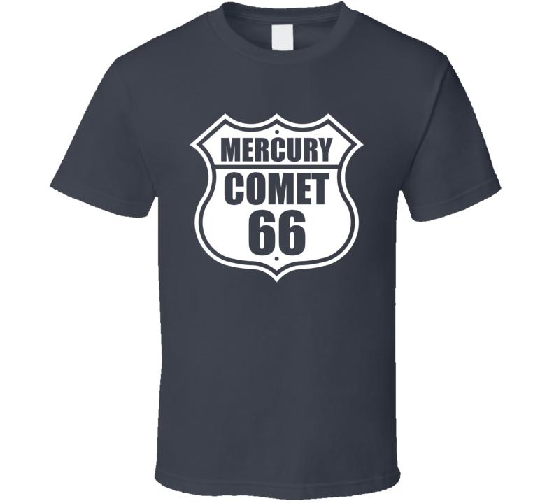 Highway Route 1966 Comet Dark Color T Shirt