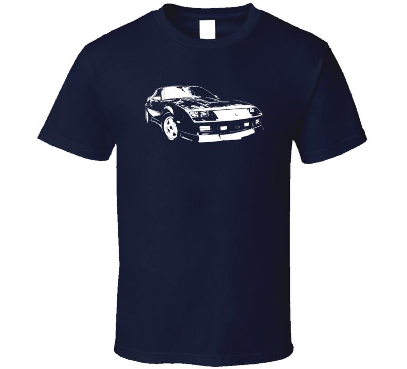 1991 Camaro Three Quarter View Dark Color T Shirt