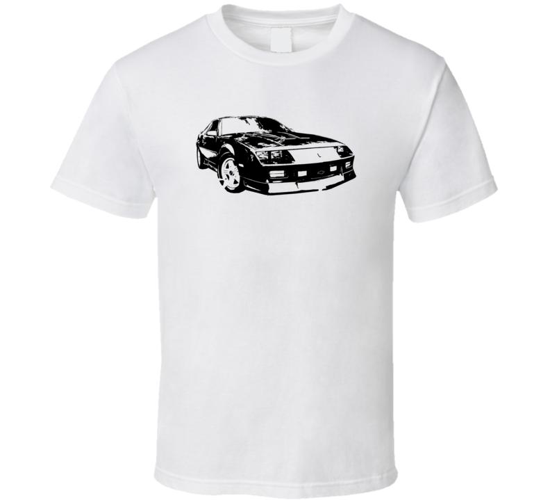 1991 Camaro Three Quarter View Light Color T Shirt