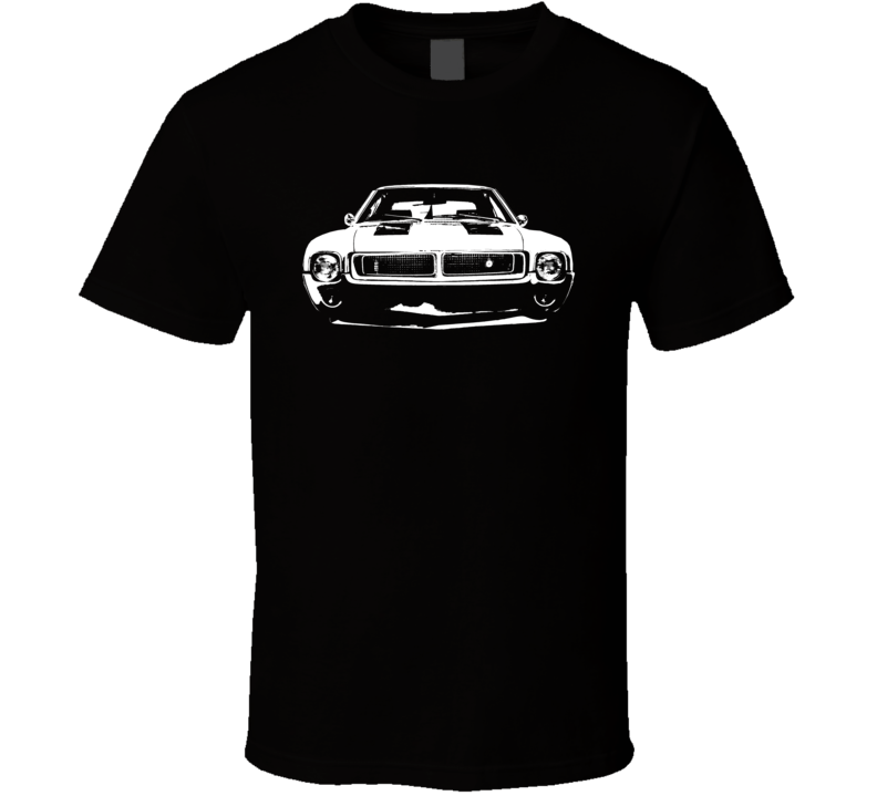 1969 Amc Grill View Dark Color T Shirt