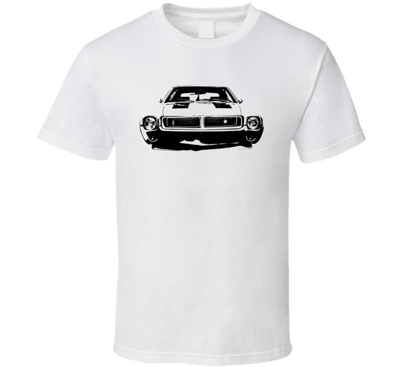 1969 Amc Grill View Light Color T Shirt