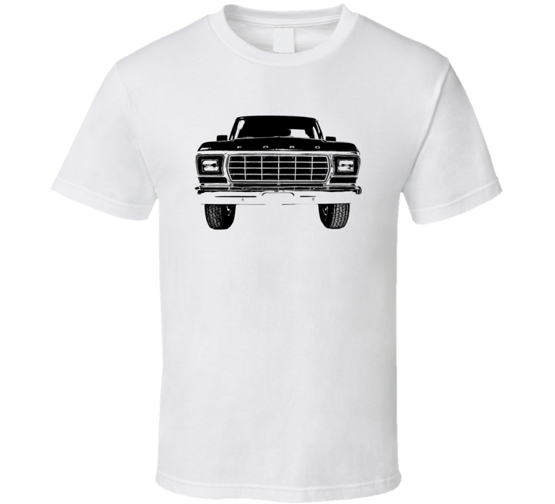 1978 F 250 Grill View Light Color T Shirt