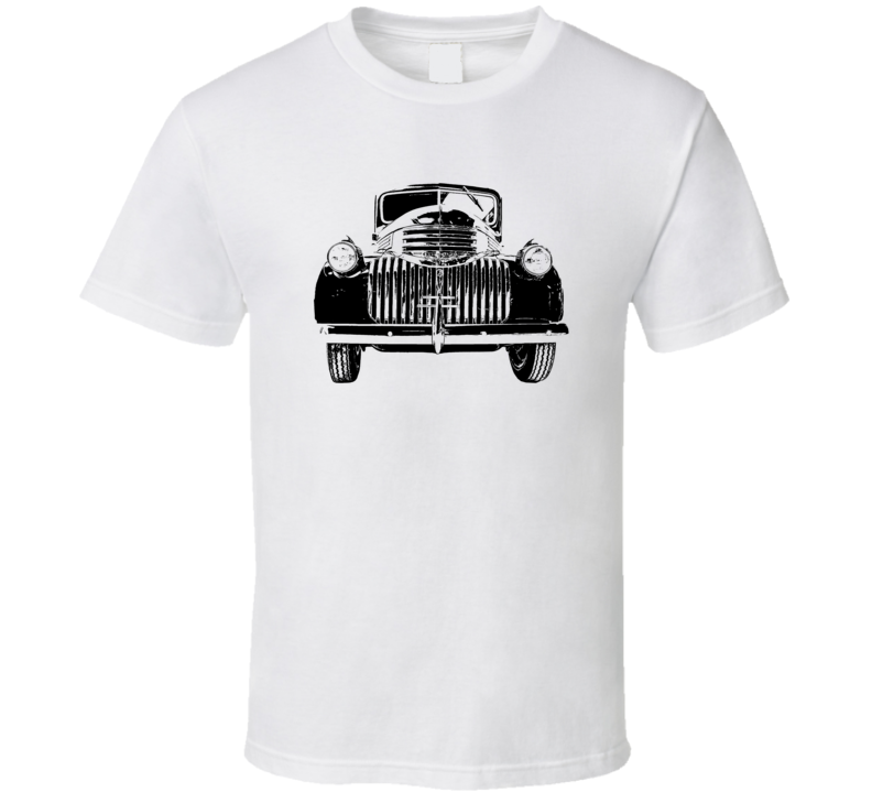 1946 Chevy Pickup Grill View Light Color T Shirt