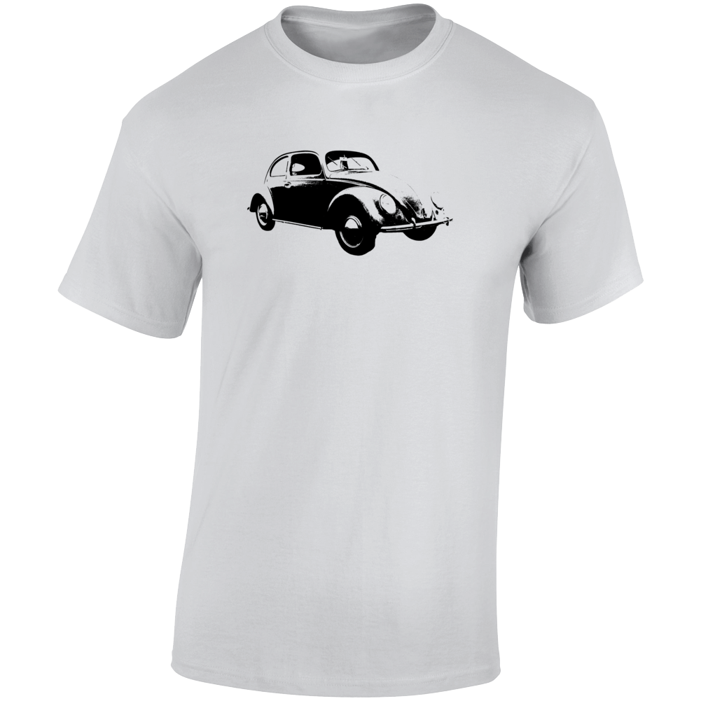 1938 V W Beetle Three Quarter Angle View Light Color T Shirt