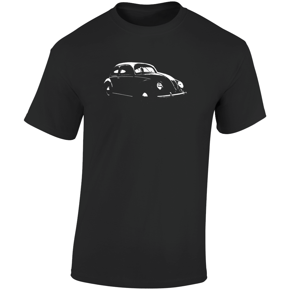 1938 V W Beetle Three Quarter Angle View Dark Color T Shirt
