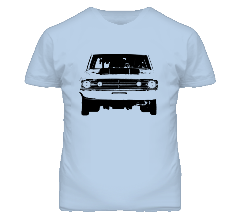1968 Dodge Dart Hood Scoop Grill View Light T Shirt